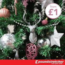 Where To Put A Christmas by Christmas Fantastic Poundstretcher Christmases How To Put Ribbon