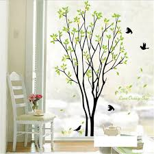 tree bird quote removable vinyl wall decal mural home art diy detail image