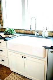 double bowl farmhouse sink with backsplash double farm sink white ceramic kitchen sink sale prices farm sinks
