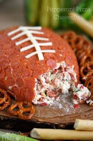 pepperoni pizza football cheese on timeout
