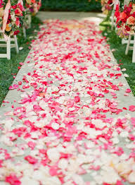 petal aisle runner 8 ways to wow with your wedding aisle runner wedding for 1000