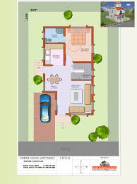 north facing house plans for 60x40 site