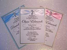 handmade invitations handmade personalised holy communion invitations x 10