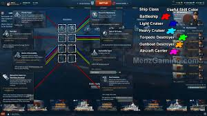 world of warships captain skills guide menz gaming world of