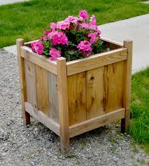 Wood Planter Bench Plans Free by Ana White Cedar Planters For Less Than 20 Diy Projects
