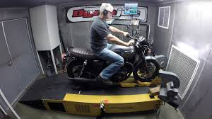 2016 triumph bonneville t120 dyno test video review cycle world