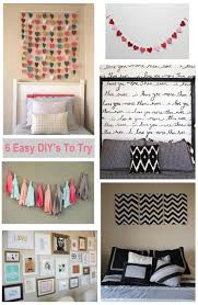cute diy bedroom ideas homemade wall decoration ideas for bedroom diy painting room decor