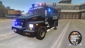 swat vehicles police swat assault truck gta iv mods youtube