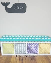 ikea kallax custom cushion playroom nursery organzation