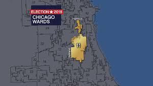Chicago Ward Map Aldermanic Candidates In 19 Wards Headed For Runoffs Chicago