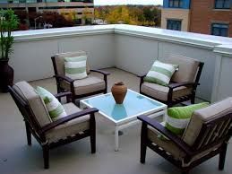Deck And Patio Combination Pictures by Furniture Sweet Cool Teracce Design Which Situated The Rooftop