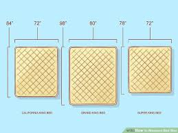 Measurement Of A King Size Bed How To Measure Bed Size 10 Steps With Pictures Wikihow