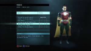 batman arkham origins online all robins costumes grayson