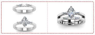 wedding ring and band which wedding band is the right match for your unique engagement ring