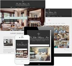 Award Winning Interior Design Websites by Portfolio Of Web Design Wordpress Websites Shopify E Commerce