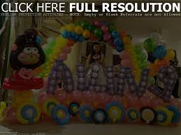 home decor simple birthday party decoration ideas at home