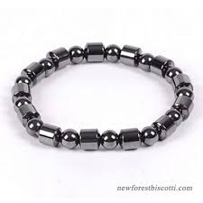 bracelet health magnetic images 1pc weight loss round black stone magnetic therapy bracelet health