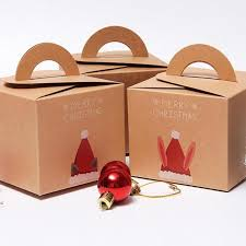 where can i buy christmas boxes merry christmas candy box packaging cake dessert paper party box