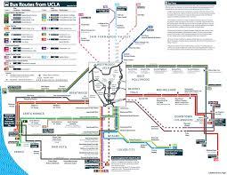 map of ucla transportation westwood