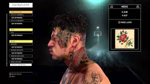 nba 2k16 rose tattoo myparkswag youtube