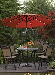 Patio Furniture From Walmart by This Umbralla Features Battery Operated Led Lights For A Bit Of