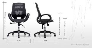 Swivel Office Chairs by Buro Black Swivel Office Chair Made Com