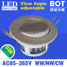 Adjustable Recessed Downlights Dimmable Led Downlight 5w 7w Ce Rohs Approved Lighting Lamp
