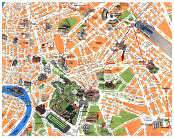 Boston Visitor Map by Maps Update 21051489 Rome Italy Tourist Map U2013 Rome Printable