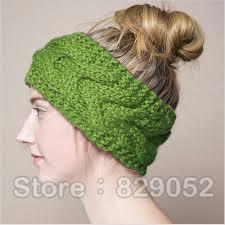 crochet headbands online shop wool knitted turban headbands for women winter warm