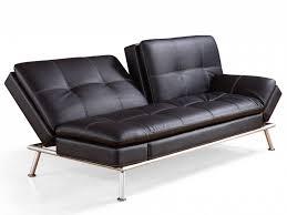 sofa leder uncategorized kleines schlafsofa schwarz leder sofa leder