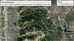 Park City Utah Map Small Earthquake Hits Near Park City But No Damage