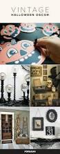 diy vintage halloween decor popsugar home