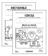 50 awesome free shapes worksheets all kids network