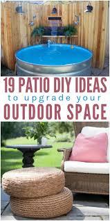 patio diy ideas to upgrade your outdoor space