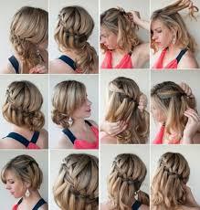 Schnelle Hochsteckfrisurenen Kurze Haare by Schnelle Frisuren Für Kurze Haare Trends Best Frisuren 2017