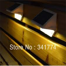 new retail led solar panel light wall fence proch lamp solar