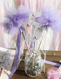 silver party favors new pastel purple fairy wands silver ribbon wedding party