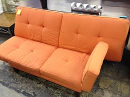 furniture charming living room furniture with leather soft orange