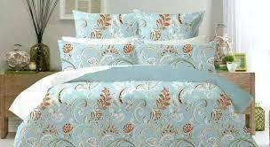 green 100 cotton flower bedding duvet cover quilt cover set