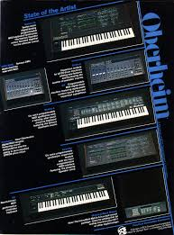 synthesizer manuals