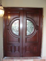 Wooden Door Design For Home by Decoration Fabulous Entry Doors Design Ideas With Wide Curtain