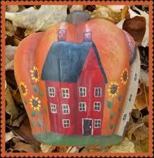 Paper Mache Pumpkin Paper Mache Pumpkin Houses