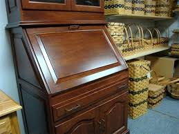 Secretary Desk Bookcase Desk Victorian Eastlake 1870 Cylinder Roll Top Secretary Desk