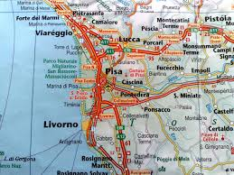 Italy Google Maps by Pisa Map