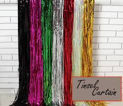 glitter backdrop qoo10 metallic tinsel curtain glitter backdrop foil fringe