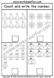 halloween u2013 counting 1 10 u2013 one worksheet preschool worksheets