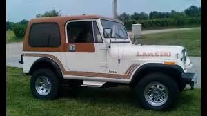 renegade jeep cj7 1986 jeep cj7 laredo renegade for sale youtube