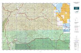 Nm State Map New Mexico Gmu 16a Map Mytopo