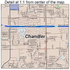 map of chandler az chandler arizona map 0412000