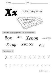 free preschool letter worksheets free printable letter x preschool worksheet